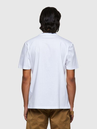 Diesel - T-JUSMER, Blanc - T-Shirts - Image 2