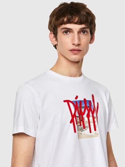 Diesel - T-DIEGOS-B9, Blanc - T-Shirts - Image 3