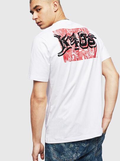 Diesel - T-JUST-T31, Weiß - T-Shirts - Image 2