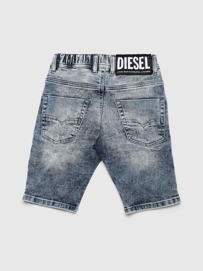 Diesel - KROOLEY-NE-J SH, Hellblau - Kurze Hosen - Image 2