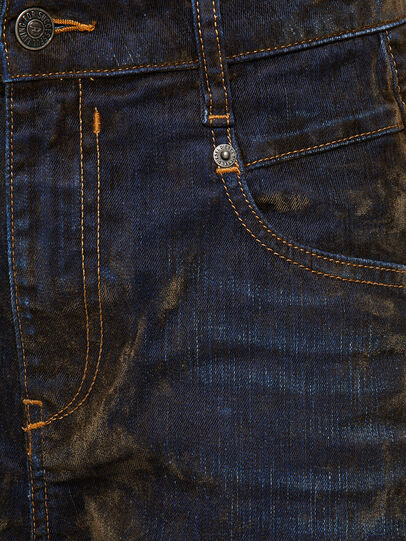 Diesel - Fayza 069RQ, Blu/Giallo - Jeans - Image 4