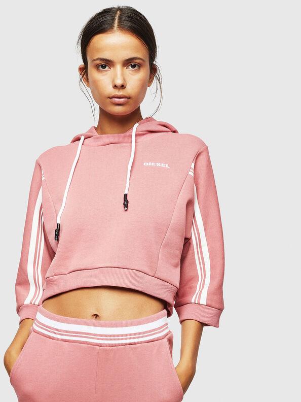 UFLT-VERTIX-CROP, Rosa - Sweatshirts