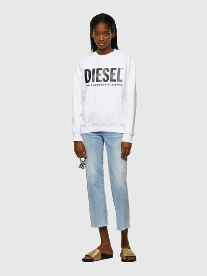 Diesel - F-ANGS-ECOLOGO, Noir/Blanc - Pull Cotton - Image 4