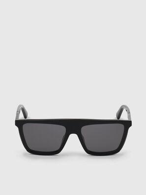 DL0323, Brillantschwarz - Sonnenbrille