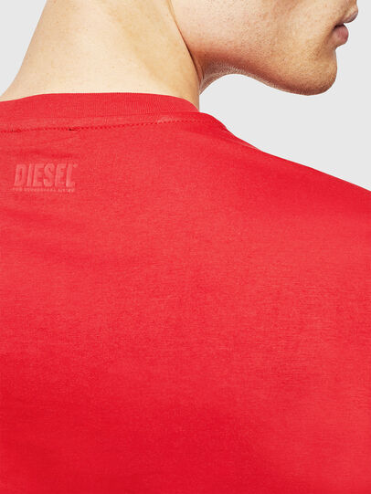 Diesel - T-DIEGO-J1, Rot - T-Shirts - Image 4