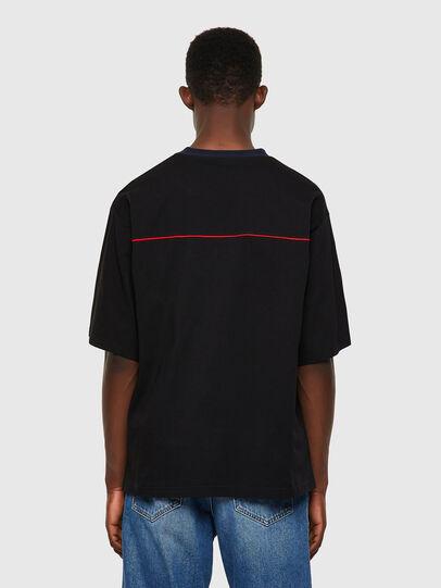 Diesel - T-DELPHIVY-SLITS, Nero - T-Shirts - Image 2