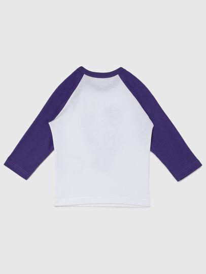 Diesel - TBALYB-FL, Blanc/Violet - T-shirts et Hauts - Image 2