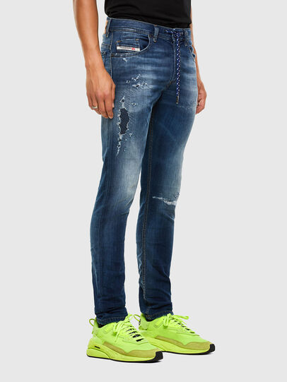 Diesel - Thommer JoggJeans® 069PL, Dunkelblau - Jeans - Image 5