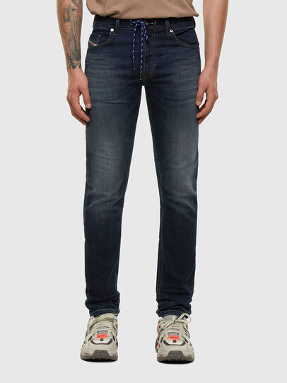 Diesel - Thommer JoggJeans® 069NE, Blu Scuro - Jeans - Image 1