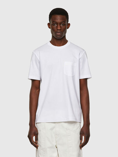 Diesel - T-JUST-WORKY, Blanc - T-Shirts - Image 1