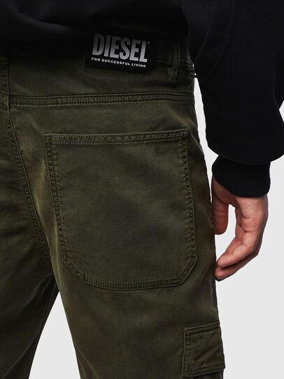 Diesel - D-Krett JoggJeans 069LX, Armeegrün - Jeans - Image 3