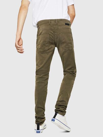 Diesel - Krooley Long JoggJeans 0670M, Armeegrün - Jeans - Image 2