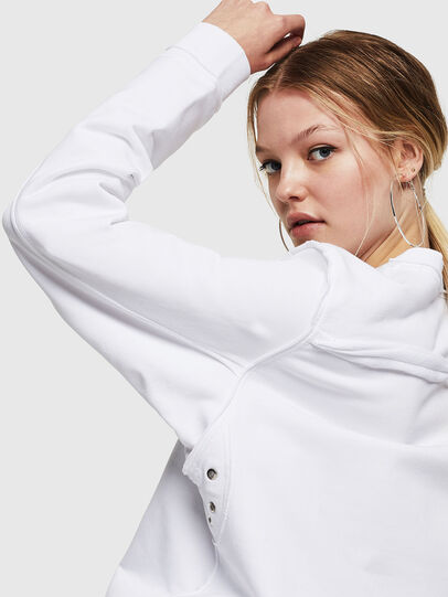 Diesel - F-LYANY-F, Weiß - Sweatshirts - Image 3