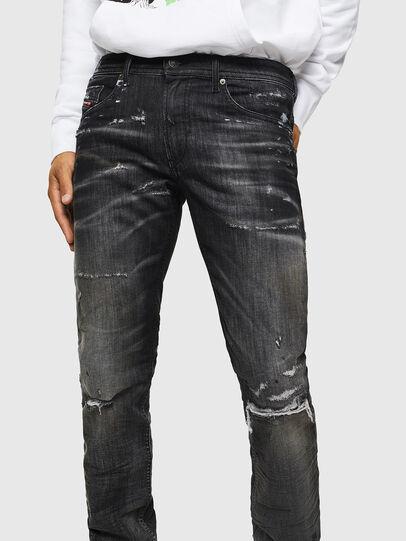 Diesel - Thommer JoggJeans 0098E, Schwarz/Dunkelgrau - Jeans - Image 3