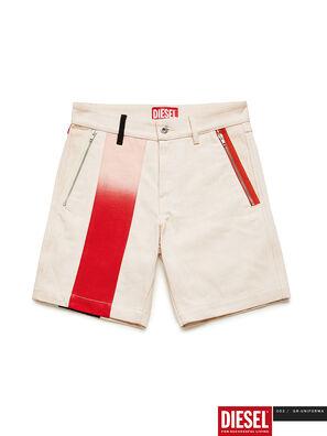 GR02-P303-P, Weiß - Kurze Hosen