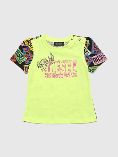Diesel - TAIRB, Vert Fluo - T-shirts et Hauts - Image 1