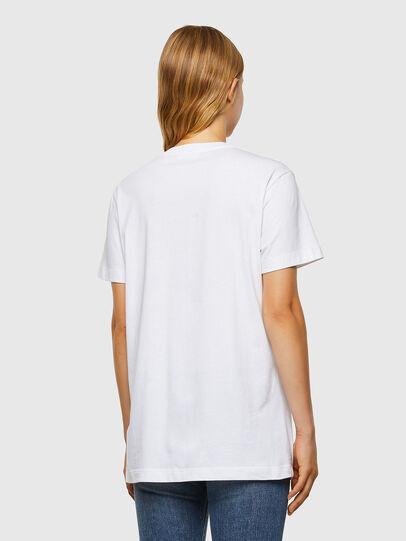 Diesel - T-DARIA-V31, Weiß - T-Shirts - Image 2