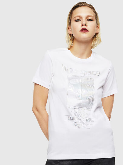Diesel - T-SILY-YB, Weiß - T-Shirts - Image 1