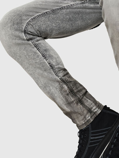 Diesel - Krooley JoggJeans 0091H, Hellgrau - Jeans - Image 6