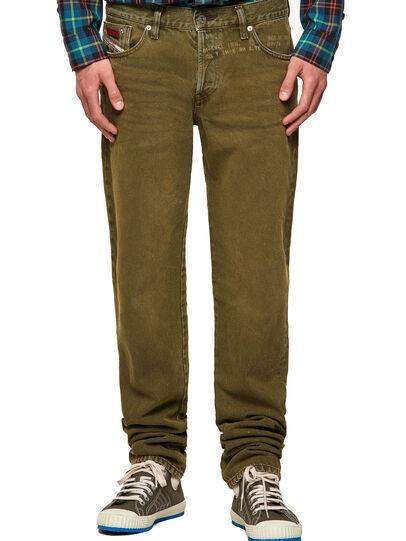 Diesel - D-Kras 09A35, Vert Militaire - Jeans - Image 1