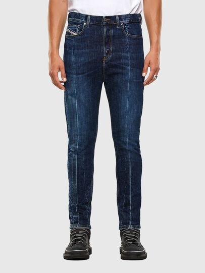 Diesel - D-Vider 0092X, Bleu moyen - Jeans - Image 1