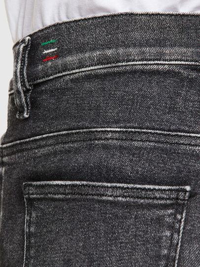 Diesel - D-Istort 009EX, Schwarz/Dunkelgrau - Jeans - Image 5