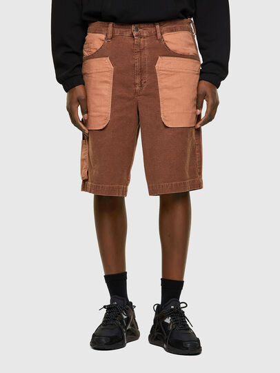 Diesel - D-CHAD-SP-NE, Light Brown - Shorts - Image 1