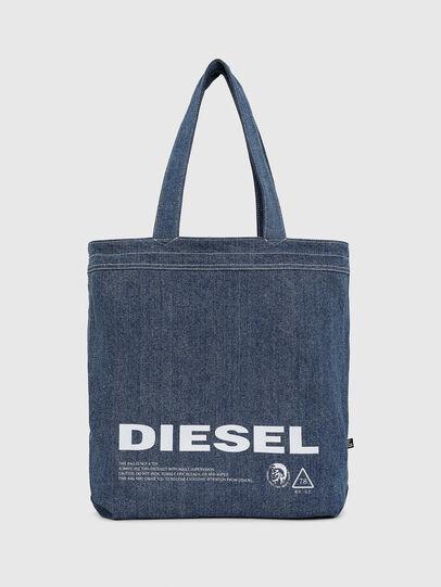 Diesel - F-THISBAG SHOPPER NS, Weiß/Blau - Shopper und Schultertaschen - Image 3