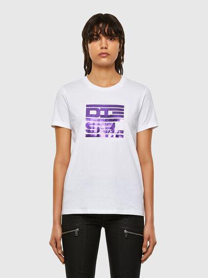 Diesel - T-SILY-K5, Weiß - T-Shirts - Image 1