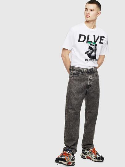 Diesel - T-JUST-T21, Weiß - T-Shirts - Image 7