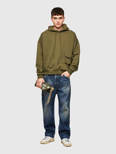 Diesel - S-ERPOCK, Military Green - Sweaters - Image 5
