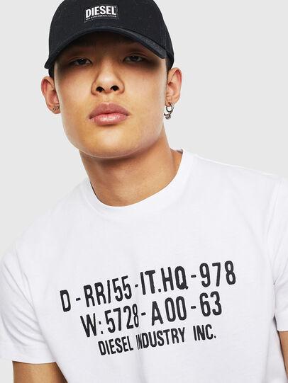 Diesel - T-DIEGO-S2, Weiß - T-Shirts - Image 3