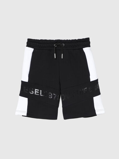 Diesel - PSHAM, Noir/Blanc - Shorts - Image 1