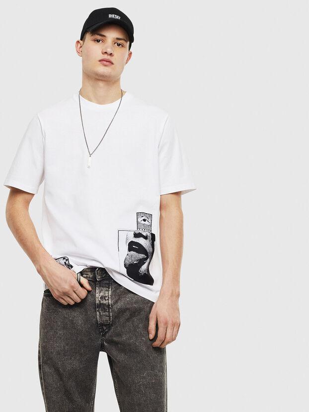 T-JUST-T18, Weiß - T-Shirts