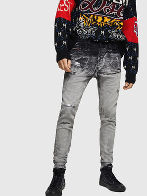 D-Reeft JoggJeans 084AH, Schwarz/Dunkelgrau - Jeans