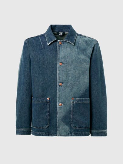 Diesel - D-ROLK-SP, Blue - Denim Jackets - Image 7