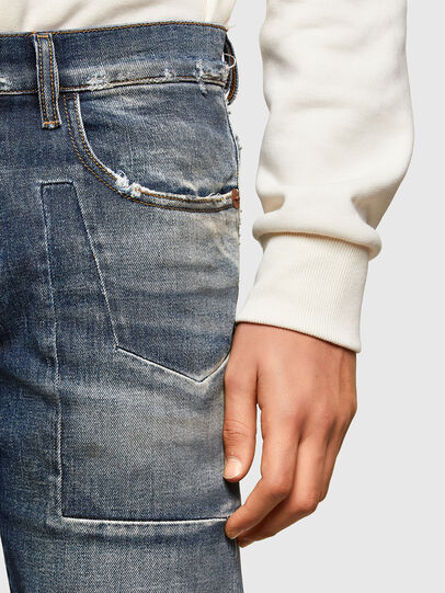 Diesel - D-Strukt 009TX, Bleu Foncé - Jeans - Image 6