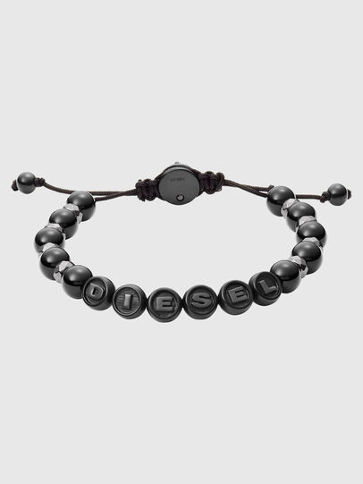 Diesel - DX1268, Noir - Bracelets - Image 1