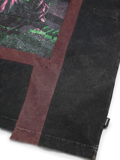 Diesel - D-FRANK&STEIN, Rot/Schwarz - T-Shirts - Image 5