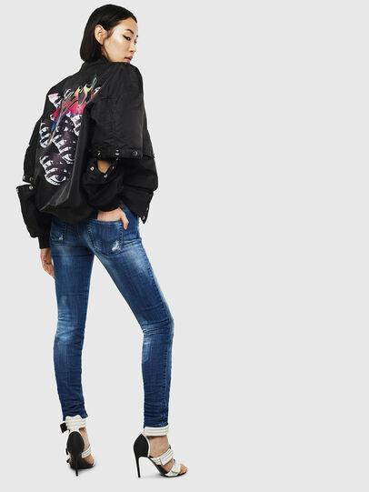 Diesel - Gracey JoggJeans 0099S, Dunkelblau - Jeans - Image 6