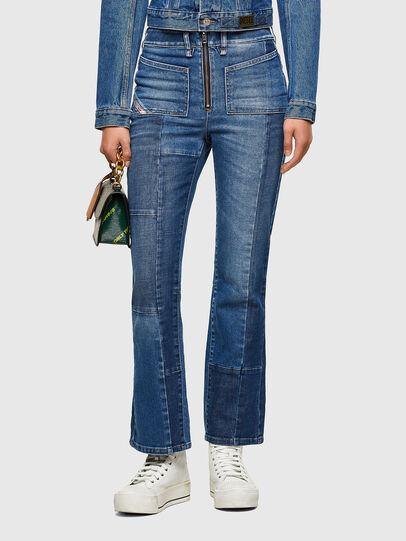 Diesel - D-Earlie 009NP, Blu medio - Jeans - Image 1
