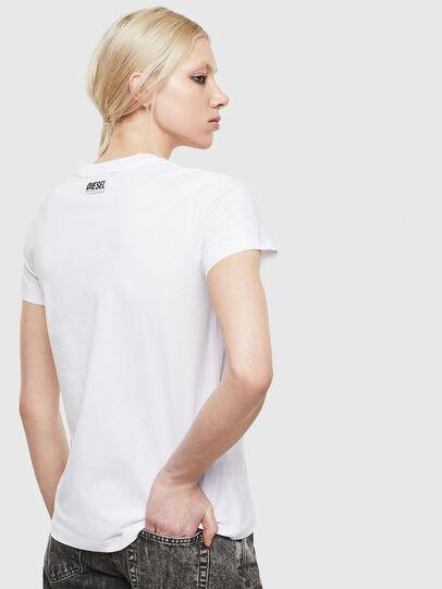 Diesel - T-SILY-S5, Weiß - T-Shirts - Image 2