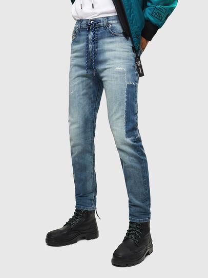 Diesel - D-Vider JoggJeans 069JZ, Hellblau - Jeans - Image 1