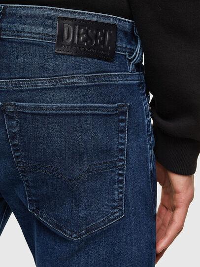 Diesel - Sleenker 009QI, Dunkelblau - Jeans - Image 4