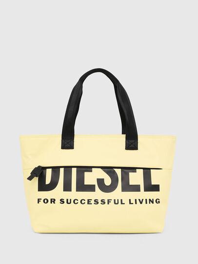 Diesel - F-BOLD SHOPPER II, Hellgelb - Shopper und Schultertaschen - Image 1