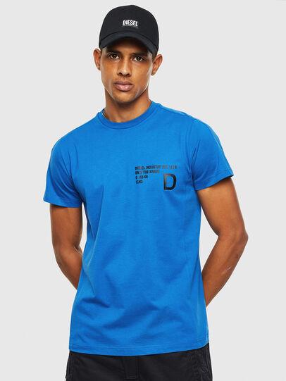 Diesel - T-HOVER, Blau - T-Shirts - Image 1