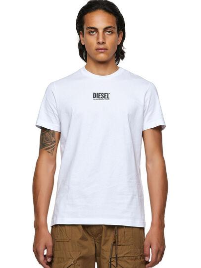 Diesel - T-DIEGOS-ECOSMALLOGO, Weiß - T-Shirts - Image 1