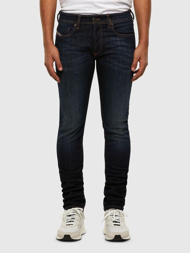 Sleenker 009EY, Dunkelblau - Jeans