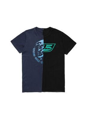 D-MESO&MESO, Blau/Schwarz - T-Shirts