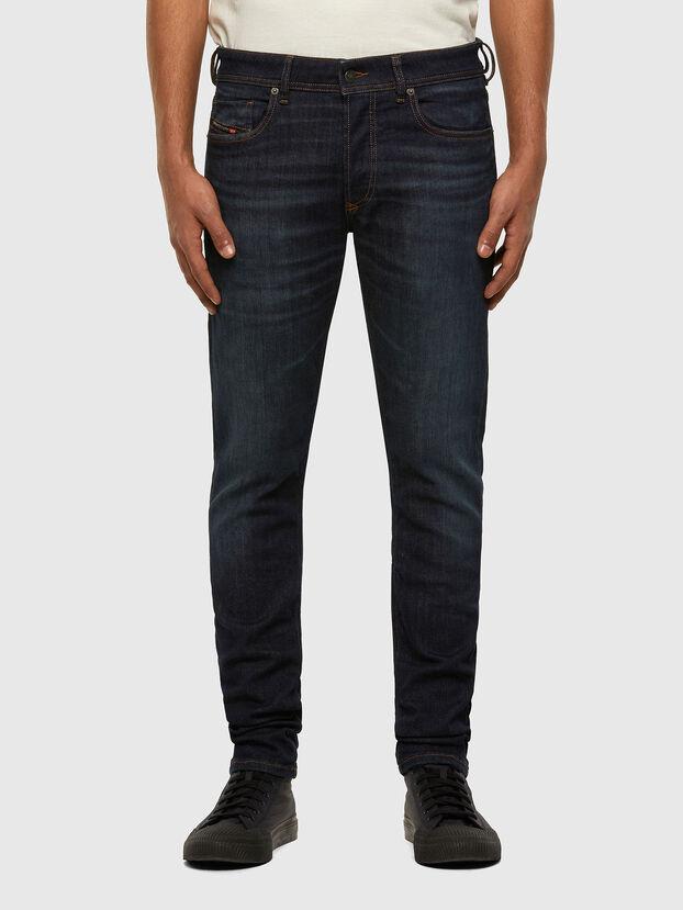 Sleenker 009DI, Dunkelblau - Jeans